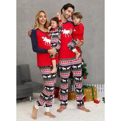 Renifer Rodzinne Dopasowanie Świąteczne piżamy