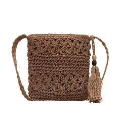Álomszerű/Vintage/Bohém stílus/Fonott Crossbody táskák/Válltáskák/Strandtáskák/Vödör táskák/Hobo táskák