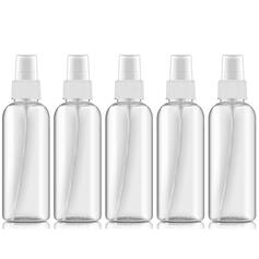 Multi-functional 100ML Plastic Spray Bottle (Set of 5)
