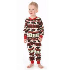 Niedźwiedź Wydrukować Rodzinne Dopasowanie Świąteczne piżamy