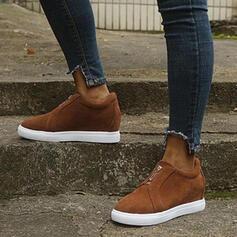 Női PU Magas felső cipők -Val Egyéb cipő