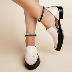 婦人向け PU その他 フラッツ とともに バックル 靴