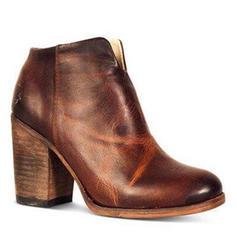 Pentru Femei PU Toc gros Cizme cu Fermoar pantofi