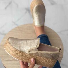 Женский PU Повседневная на открытом воздухе Спортивное обувь