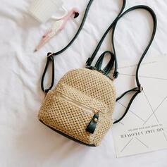 Elegante/Bonito/Vintage/Estilo boêmio/Trançado mochilas