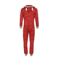 Rand Print Matchande familj Pyjamas