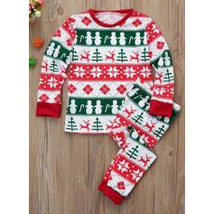 Print Matchande familj Jul Pyjamas