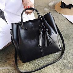 Elegant/Fashionable/Solid Color/Super Convenient/Mom's Bag Tote Bags/Crossbody Bags/Bag Sets/Bucket Bags
