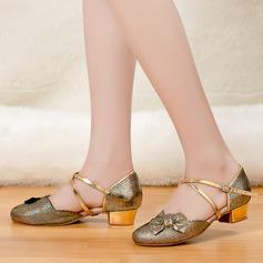 Børne Latin Hæle sandaler Mousserende Glitter Latin