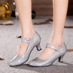 Women's Character Shoes Pumps Sparkling Glitter Modern