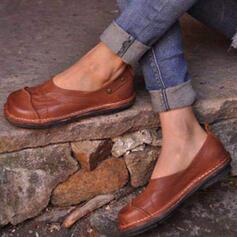 Mulheres PU Sem salto Sem salto com Cor sólida sapatos