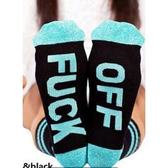 Letter/Print Breathable/Comfortable/Unisex Socks