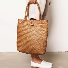 фешенебельный/плетеный Полиэстер Пляжные сумки
