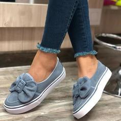 Pentru Femei Piele de Căprioară călcâi plat Balerini cu Nod pantofi