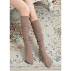 Solid Color Warm/Comfortable/Women's/Knee-High Socks Socks/Stockings