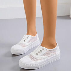Bayanlar Dantel PU Ile Dikiş dantel ayakkabı