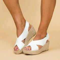 PU Tipo de tacón Sandalias zapatos