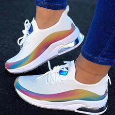 De mujer PU Casual Atlético Excursionismo con Cordones zapatos