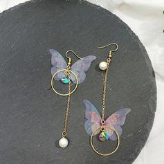Elegante Aleación La perla de faux con Perlas de imitación De mujer Pendientes de la manera (Juego de 2)