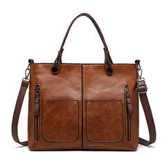 Elegantní/Vinobraní/Dojíždění/Jednoduchý/Super Pohodlné Crossbody tašky/Tašky přes rameno/Do ruky