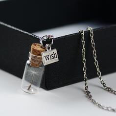 Hottest Dandelion Alloy Glass Women's Necklaces
