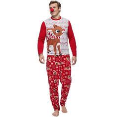 Deer Família Combinando Natal Pijama