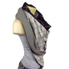 Plaid/Retro/Vintage/Stitching fashion/Comfortable Scarf