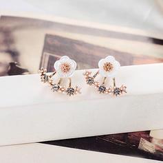 Vackra Och Legering med Strass Damer' örhängen
