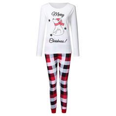Oso Tela Escocesa Impresión Familia a juego Pijamas De Navidad Pijama