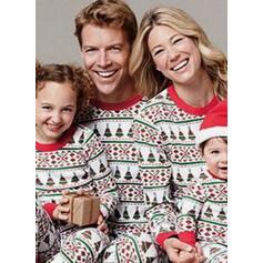 Print Familie matchende Jule Pyjamas