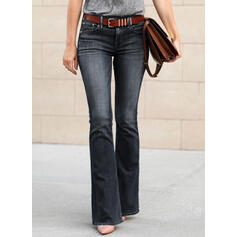 Plus Size Long Boho Sexy Denim & Jeans