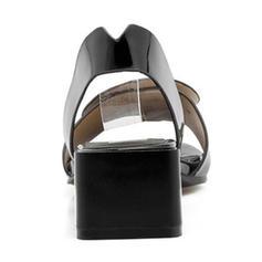 Kvinner PU Lav Hæl Flate sko med Annet sko