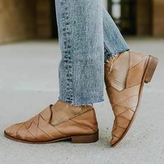 De mujer PU Tacón plano Planos con Otros zapatos