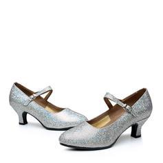 Dla kobiet buty do butów Czólenka Byszczący brokat Nowoczesny