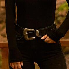 Clásico Aleación PU De mujer Cinturones