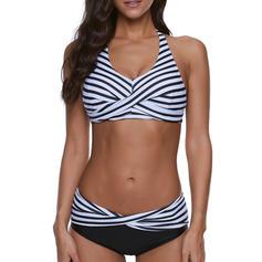 Pasek Wiązany na szyi Seksowny Bikini Stroje kąpielowe