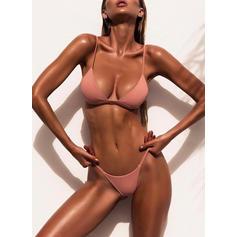 Lav midje Thong Stropp Sexy Bikinier Badedrakter