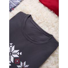 Rena Impressão Família Combinando Natal Pijama