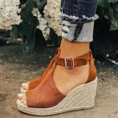 PU Kilklack Sandaler med Spänne skor