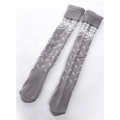 Polka Dots/Print Breathable/Comfortable/Women's/Christmas/Knee-High Socks Socks/Stockings