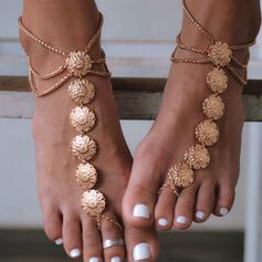 Charming Fancy Alloy Beach Jewelry Anklets
