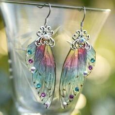 Wings tvaru Slitina S Křídla Dámské Náušnice
