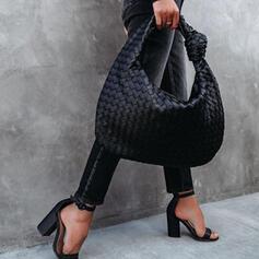 фешенебельный/Пельмени в форме/плетеный Большие сумки