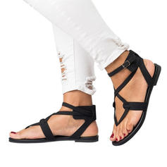 Pentru Femei Imitaţie de Piele Fară Toc Sandale Balerini cu Cataramă pantofi