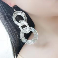 Divatos Ötvözet Női divat fülbevalók (2-es készlet)