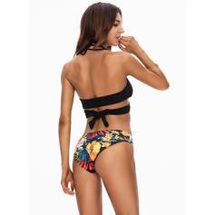 Blomstrete Stropp Vakker Bikinier Badedrakter