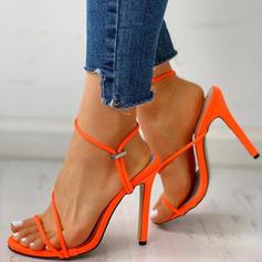 Pentru Femei Ţesătură Toc Stiletto Sandale Încălţăminte cu Toc Înalt Puţin decupat în faţă cu Altele pantofi