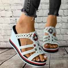 Выдолбить Плетеный ремешок обувь