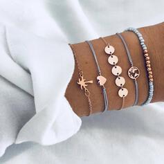 Liga Conjuntos de jóias Pulseiras (Conjunto de 5 pares)