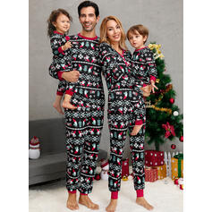 Nisse Print Familie matchende Jule Pyjamas